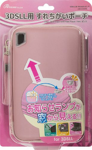 Image 1 for Surechigai Pouch for 3DS LL (Pink)