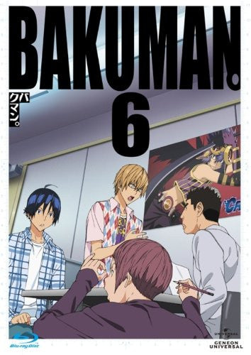 Image 1 for Bakuman 6 [Blu-ray+CD Limited Edition]