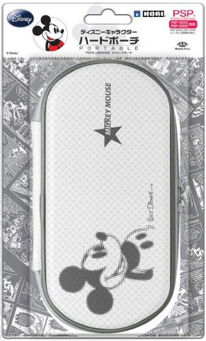 Image for Disney Character Hard Pouch Portable (Mickey White)