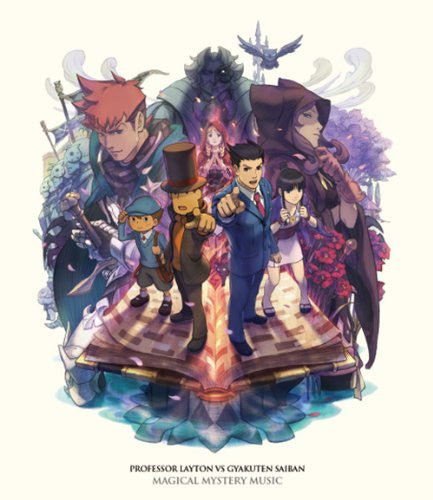 Image 1 for PROFESSOR LAYTON VS GYAKUTEN SAIBAN MAGICAL MYSTERY MUSIC