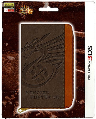 Image for Monster Hunter 4G 3DS Game Card Case