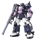 Thumbnail 7 for Kidou Senshi Gundam - MS-06R-1A Zaku II High Mobility Type - HGUC #151 - 1/144 - Black Tri-Stars Version (Bandai)