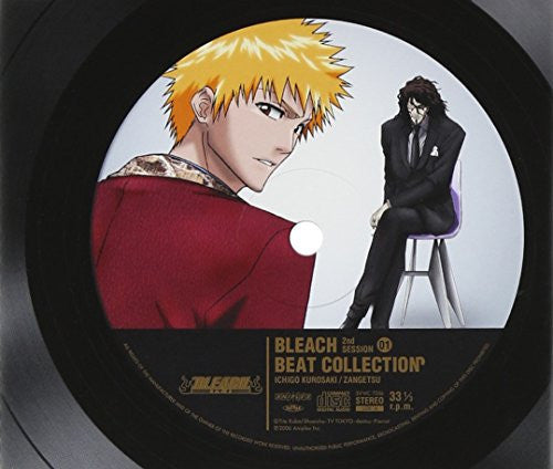 Image 1 for BLEACH BEAT COLLECTION 2nd SESSION 01 -ICHIGO KUROSAKI / ZANGETSU-