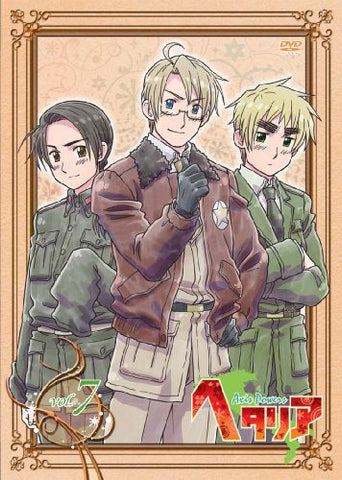 Image for Hetalia Axis Powers Vol.7 [DVD+CD Limited Edition]