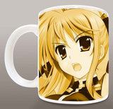Thumbnail 2 for Mahou Shoujo Lyrical Nanoha ViVid - Fate T. Harlaown - Mug (Broccoli)