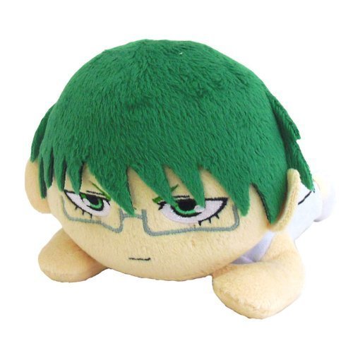 Image 1 for Kuroko no Basket - Midorima Shintarou - Cushion - Nesoberi Cushion Mini (Bandai)