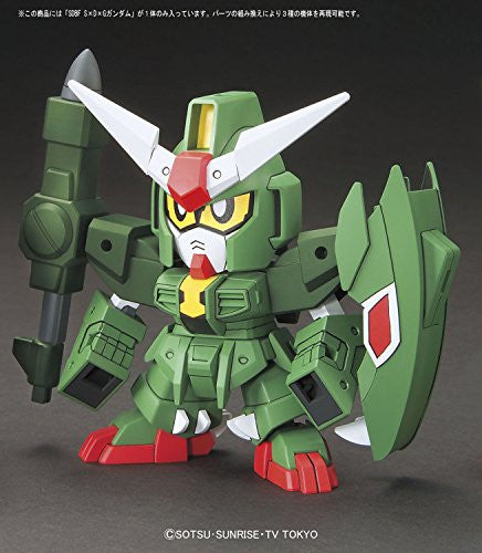 Image 2 for Gundam Build Fighters Try - SDG-R3 Giracanon Gundam - SDBF (Bandai)