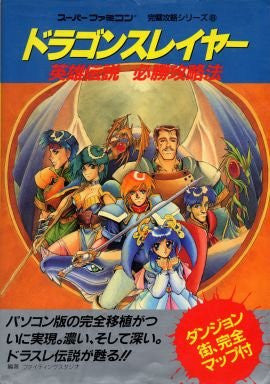 Image for Dragon Slayer: The Legend Of Heroes Victory Strategy Guide Book / Snes