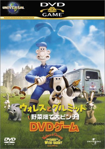 Image for Wallace & Gromit The Curse Of The Were-Rabbit Interactive DVD Game [Limited Edition]