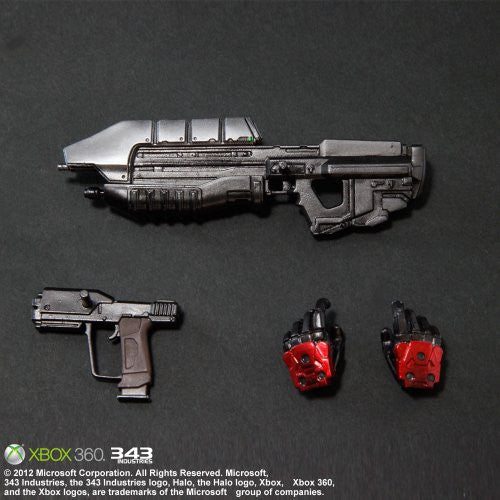 Image 5 for Halo: Combat Evolved - Spartan Mark V - Play Arts Kai - Red (Microsoft Square Enix)