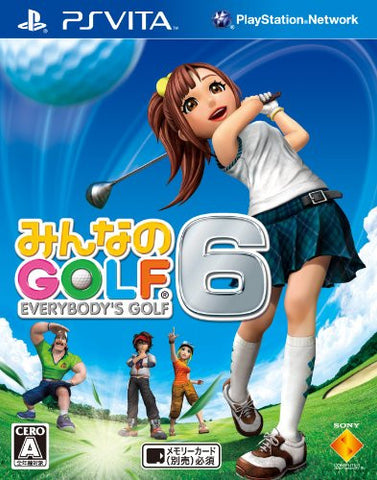 Minna no Golf 6