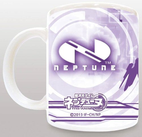 Image 2 for Choujigen Game Neptune: The Animation - Purple Heart - Mug (Broccoli)