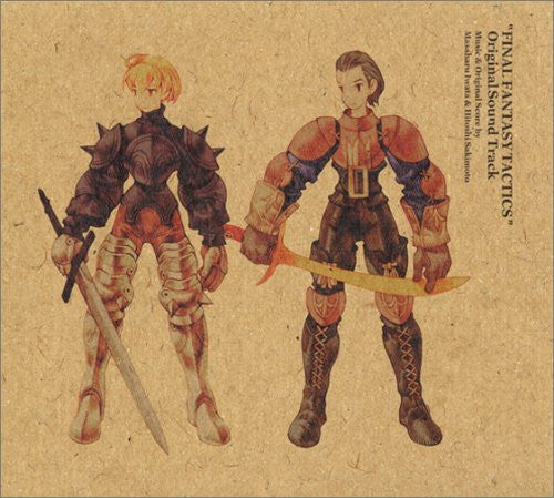 Image 1 for FINAL FANTASY TACTICS Original Soundtrack