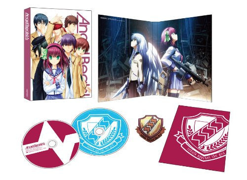 Image 2 for Angel Beats Vol.6 [Blu-ray+CD Limited Edition]