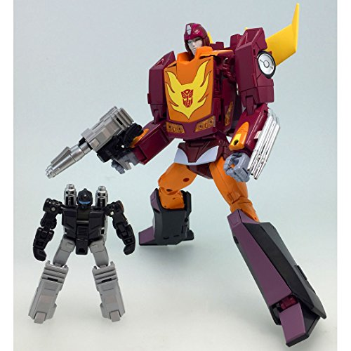 Image 4 for Transformers 2010 - Hot Rodimus - The Transformers: Masterpiece MP-40 - Targetmaster Hot Rodimus (Takara Tomy)