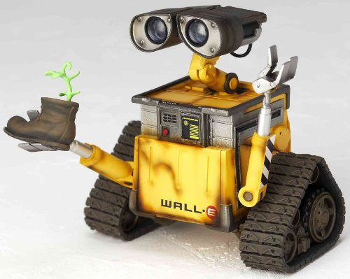 Image 7 for WALL-E - Revoltech - Revoltech Pixar Figure Collection - 2 (Kaiyodo Pixar The Walt Disney Company)