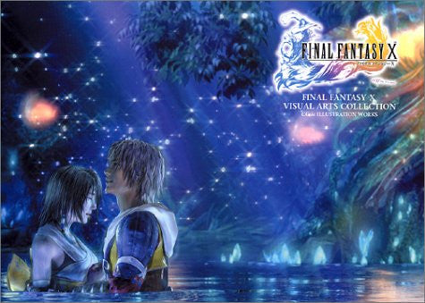 Final Fantasy X Visual Arts Collection Book / Ps2