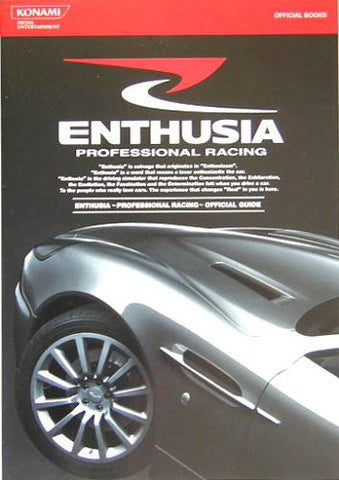 Image for Enthusia Professional Racing Official Guide Book/ Ps2