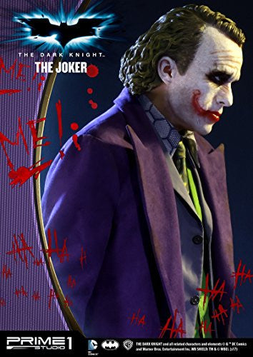 Image 7 for The Dark Knight - Joker - High Definition Museum Masterline Series HDMMDC-01 - 1/2 (Prime 1 Studio)