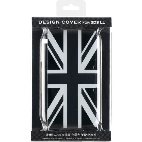 Image 1 for Design Cover for 3DS LL (Union Jack Monotone)