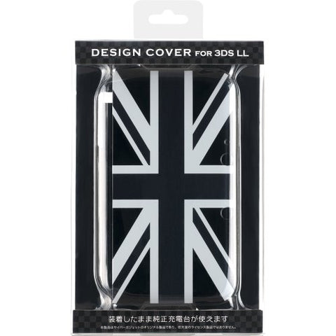 Image for Design Cover for 3DS LL (Union Jack Monotone)
