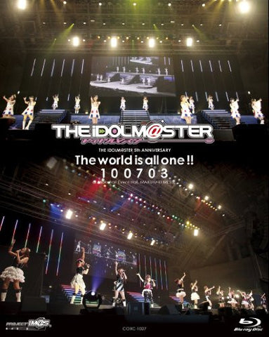 Image for The Idolm@ster 5th Anniversary The World Is All One! 100703