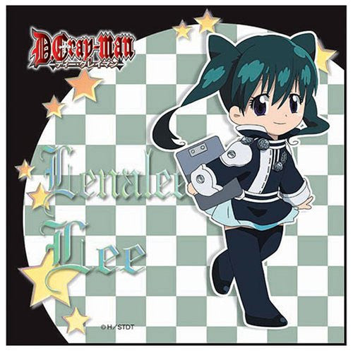 Image 1 for D.Gray-man - Lenalee Lee - Towel - Mini Towel - ver. 1 (Broccoli)