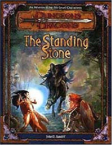 Image 1 for Dungeons & Dragons Adventure Series #4 Mystery Of The Stone Circl Game Book Rpg