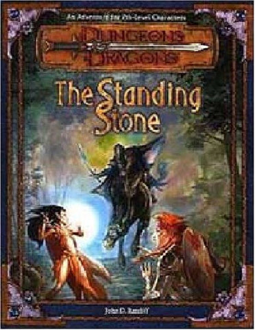 Image for Dungeons & Dragons Adventure Series #4 Mystery Of The Stone Circl Game Book Rpg