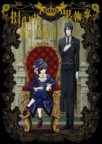 Image 1 for Black Butler Black Record Kuroshitsuji Tv Animation Analytics Illustration Art Book