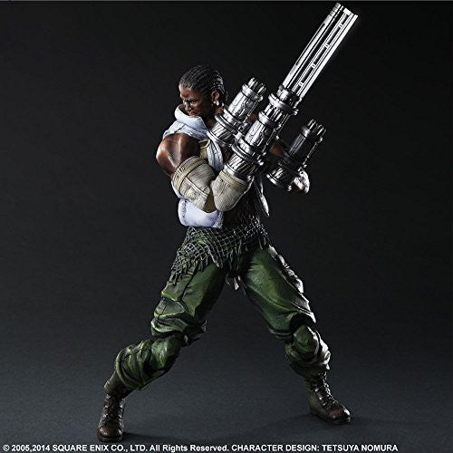Image 6 for Final Fantasy VII: Advent Children - Barret Wallace - Play Arts Kai (Square Enix)