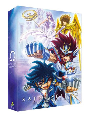 Image 1 for Saint Seiya Omega New Cloth Hen Dvd Box