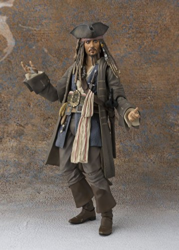 Image 4 for Pirates of the Caribbean: Dead Men Tell No Tales - Jack Sparrow - S.H.Figuarts