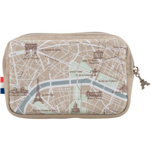 Image 1 for Design Pouch for 3DS LL (Map)