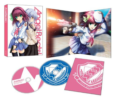 Image for Angel Beats Vol.1 [DVD+CD Limited Edition]