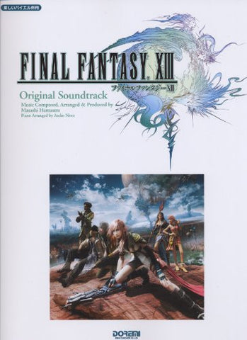 Image for Final Fantasy Xiii Original Soundtrack Piano Solo Arrange Sheet Music Book