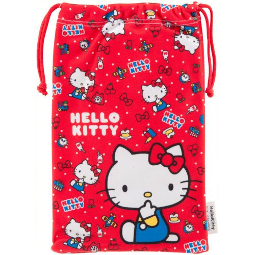 Image 4 for Hello Kitty Pouch for 3DS LL (Red)