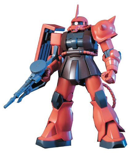 Image 1 for Kidou Senshi Gundam - MS-06S Zaku II Commander Type Char Aznable Custom - HGUC - 1/144 (Bandai)