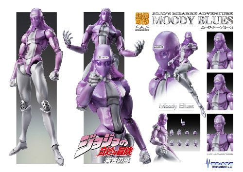 Image 5 for Jojo no Kimyou na Bouken - Vento Aureo - Moody Blues - Super Action Statue #57 (Medicos Entertainment)