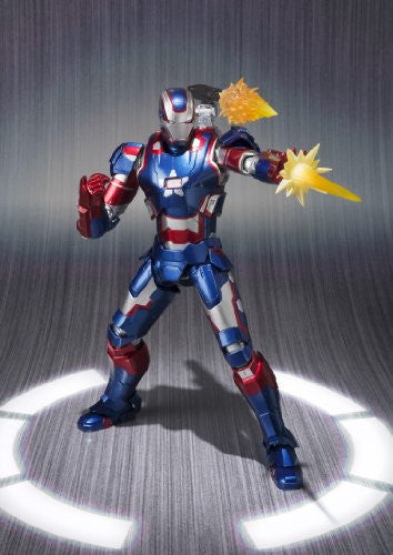Image 5 for Iron Man 3 - Iron Patriot - S.H.Figuarts (Bandai)