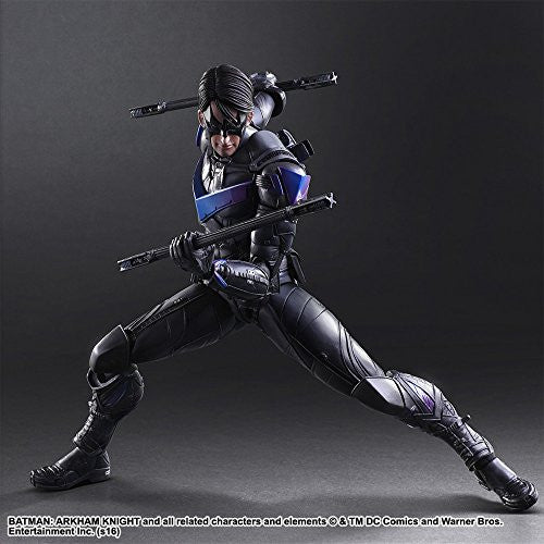 Image 4 for Batman: Arkham Knight - Nightwing - Play Arts Kai (Square Enix)