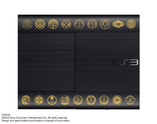 PlayStation3 New Slim Console - Ryu ga Gotoku 5 Emblem Edition (250GB Limited Model)