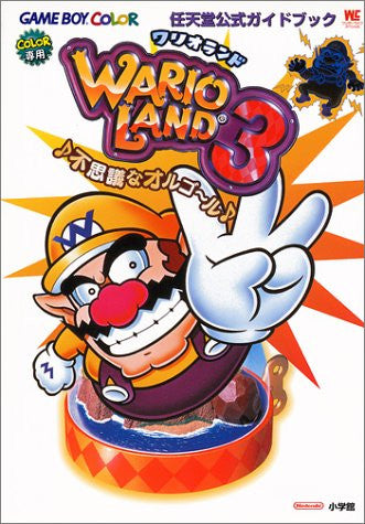 Image 1 for Wario Land 3 Nintendo Offcial Guide Book / Gb