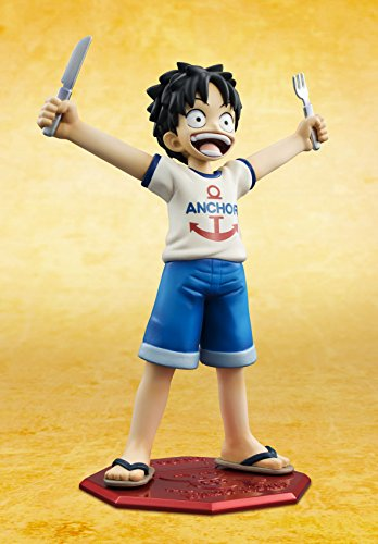 Image 2 for One Piece - Monkey D. Luffy - Excellent Model - Portrait Of Pirates MILD - 1/8 - CB-R1 (MegaHouse)