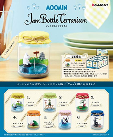 Moomin - Moomintroll - Candy Toy - MOOMIN Jam Bottle Terrarium - 1 (Re-Ment)