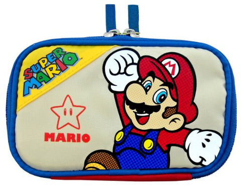 Image for Character Flat Pouch 3DS (Mario Version)