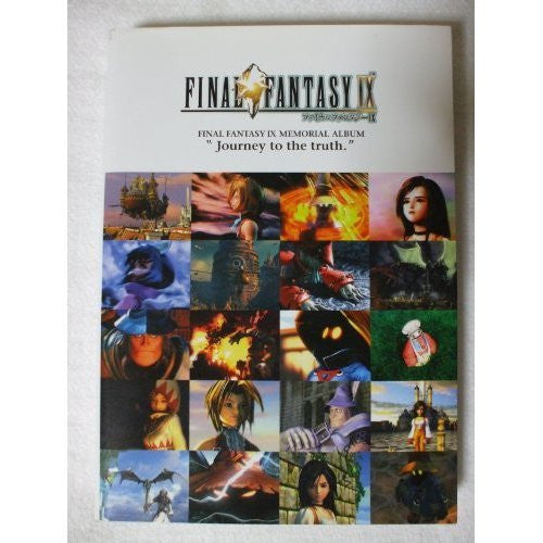 Image 1 for Final Fantasy Ix Memorial Album Book/ Ps