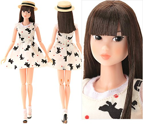 Image 1 for Momoko Doll - Dancing with Kittens - 1/6 - SWEET Ver. (Sekiguchi)