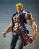 "One Piece - Bellamy the Hyena - Excellent Model - Portrait Of Pirates ""Sailing Again"" - 1/8 (MegaHouse)  - 6"