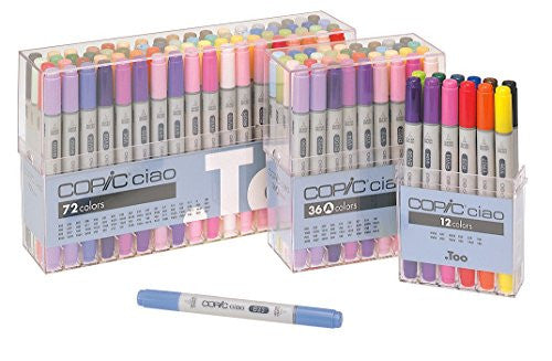 Image 2 for Copic Ciao Markers Set - 36PK/Basic